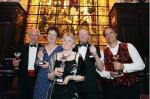 Margaret Skea (Centre) Beryl Bainbridge Award for Best First Time Author